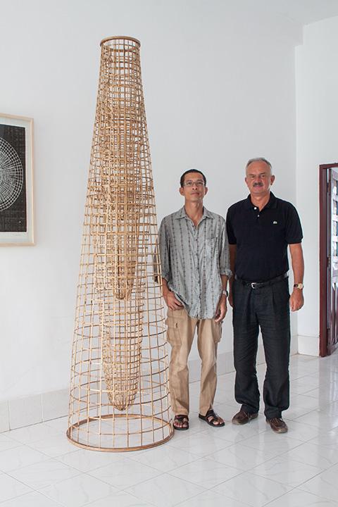 Sopheap Pich and Dr. István Zelnik