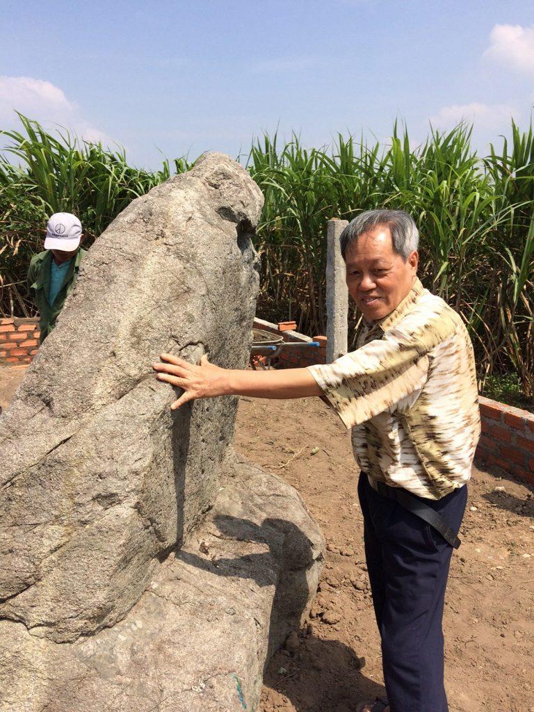 Prof. Dr. Ngo Van Doanh in My Son