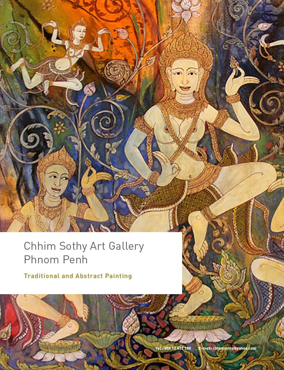Chhim Sothy Art Gallery Phnom Penh