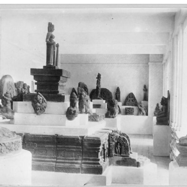 Interior of the museum opened to the public in 1919 (Courtesy EFEO)