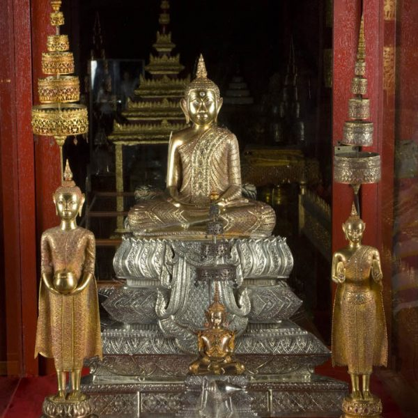 Silver and Gold Ritual Statues