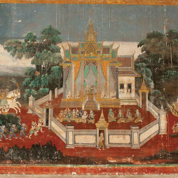 Fresco-scene from the Ramayana
