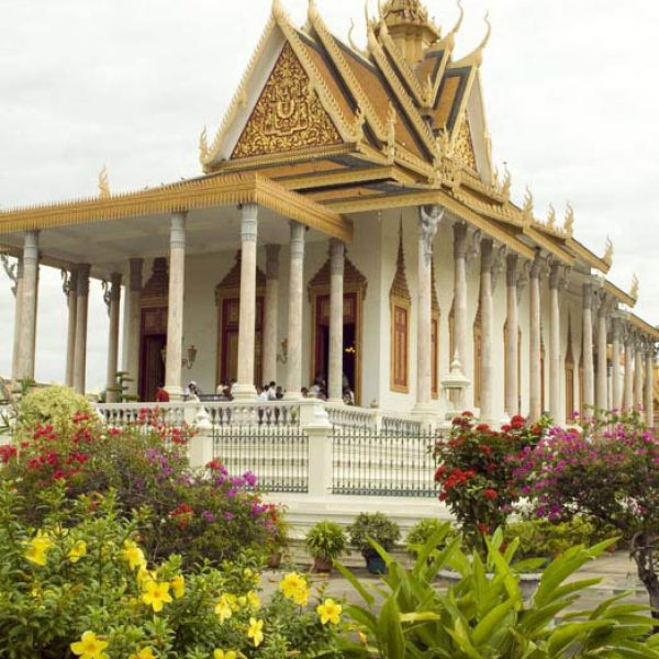 The Building of the 'Silver Pagoda'