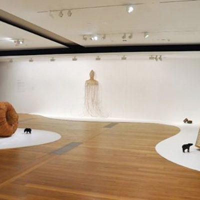 A view of the exhibitons Morning Glory at Tyler Rollins Fine Art, 2011.